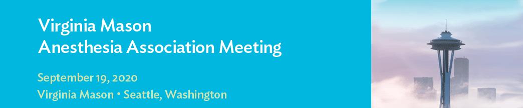 2020 Virginia Mason Anesthesia Association Meeting Banner