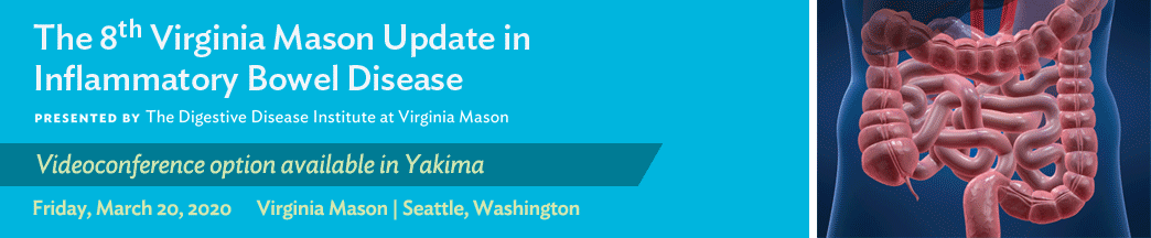 The 8th Virginia Mason Update in Inflammatory Bowel Disease Banner