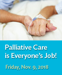 Palliative Care is Everyone's Job! Banner